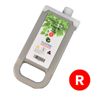 PFI-1700 red ink cartridge for Canon plotter