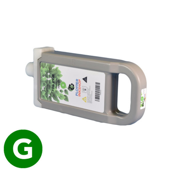PFI-706 green ink cartridge for Canon plotter