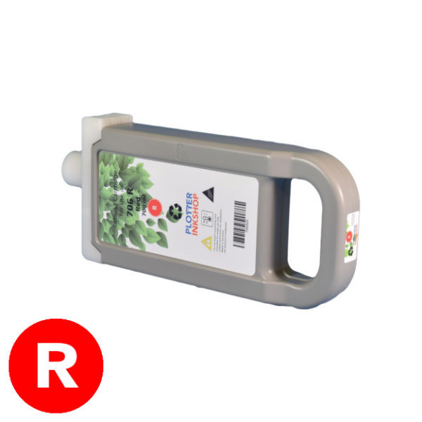PFI-706 red ink cartridge for Canon plotter