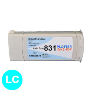 No831 light cyan ink cartridge for HP plotter