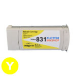 No831 yellow ink cartridge for HP plotter