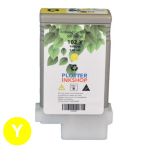 PFI 102-104 Yellow ink cartridge for Canon plotter printer