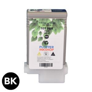 PFI 107 Black ink cartridge for Canon plotter printer