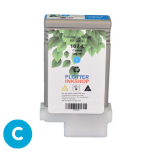PFI 107 Cyan ink cartridge for Canon plotter printer