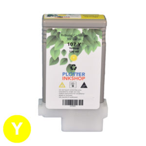 PFI 107 Yellow ink cartridge for Canon plotter printer