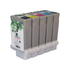 PFI 107 ink cartridge set for Canon plotter printer