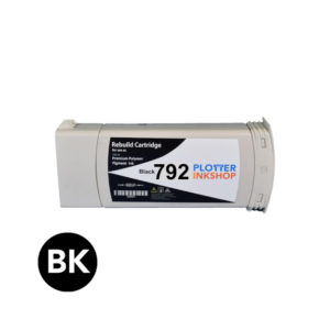 No792 black ink cartridge for HP plotter