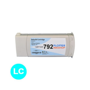 No792 light cyan ink cartridge for HP plotter