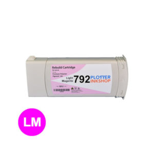 No792 light magenta ink cartridge for HP plotter