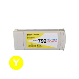 No792 yellow ink cartridge for HP plotter
